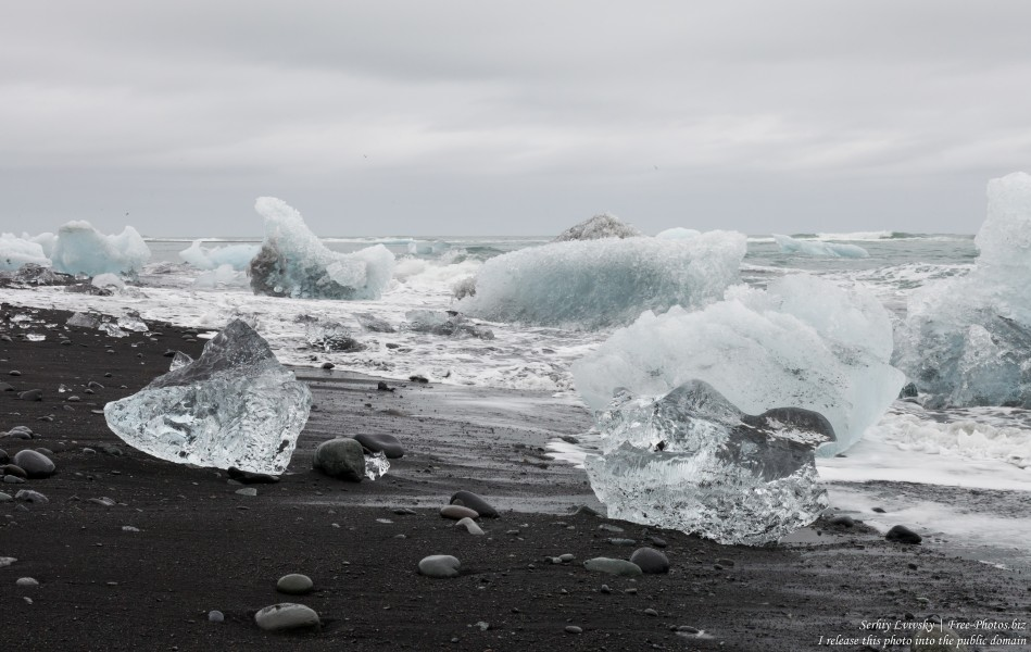 Diamond Beach, Iceland, in May 2019, photographed by Serhiy Lvivsky, picture 3