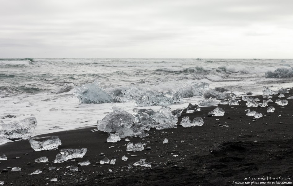Diamond Beach, Iceland, in May 2019, photographed by Serhiy Lvivsky, picture 5