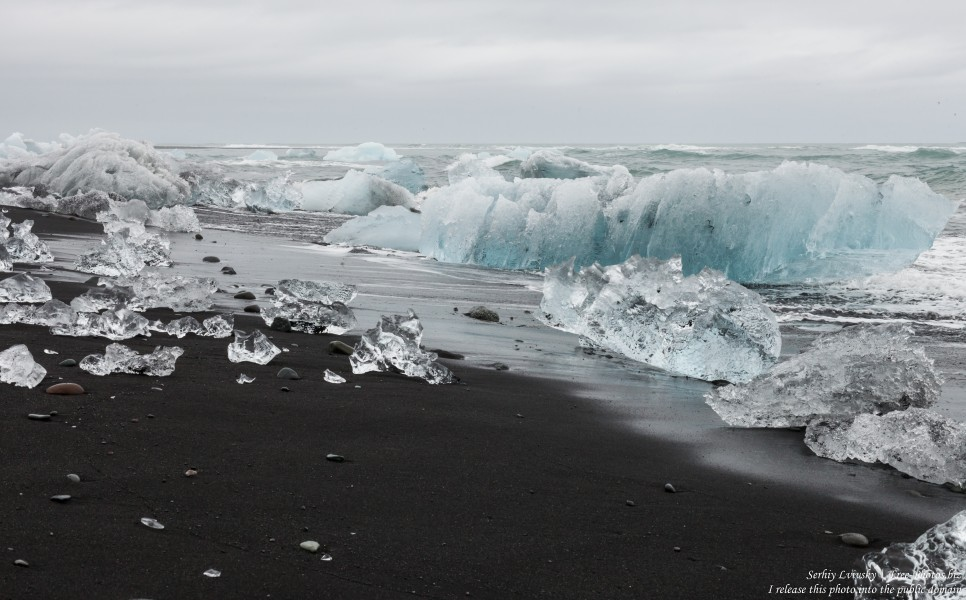 Diamond Beach, Iceland, in May 2019, photographed by Serhiy Lvivsky, picture 6