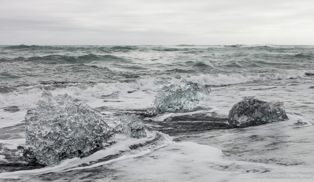 Diamond Beach, Iceland, in May 2019, photographed by Serhiy Lvivsky, picture 10