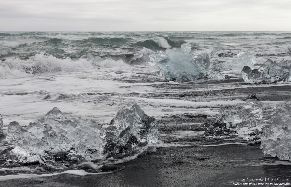 Diamond Beach, Iceland, in May 2019, photographed by Serhiy Lvivsky, picture 12