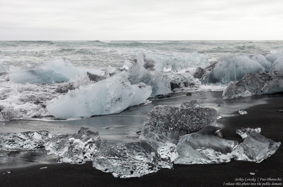 Diamond Beach, Iceland, in May 2019, photographed by Serhiy Lvivsky, picture 14