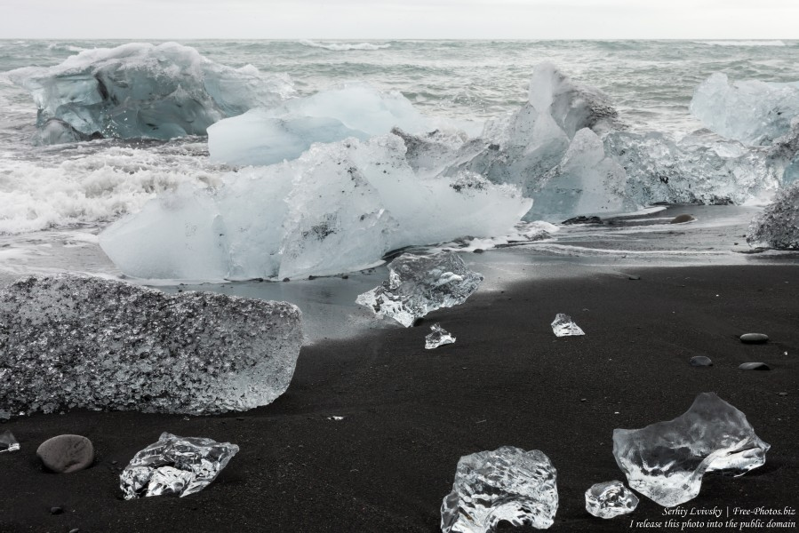 Diamond Beach, Iceland, in May 2019, photographed by Serhiy Lvivsky, picture 15