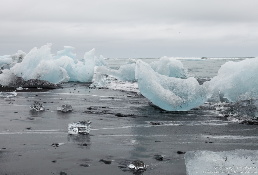 Diamond Beach, Iceland, in May 2019, photographed by Serhiy Lvivsky, picture 18