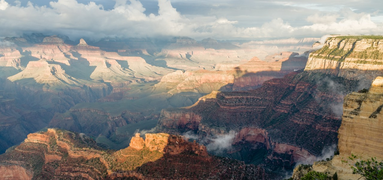 Grand Canyon Powell Point Evening Light 2013