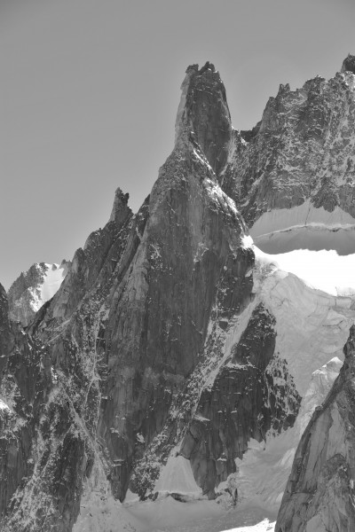 Grand Capucin, 2010 July, 2, bw