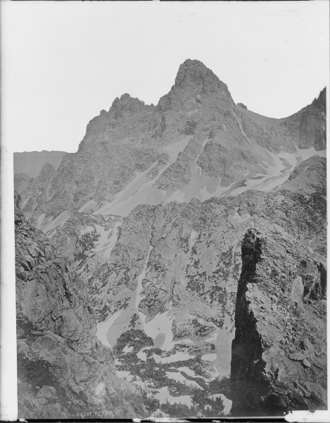 Grand Teton. Lincoln County, Wyoming - NARA - 516771