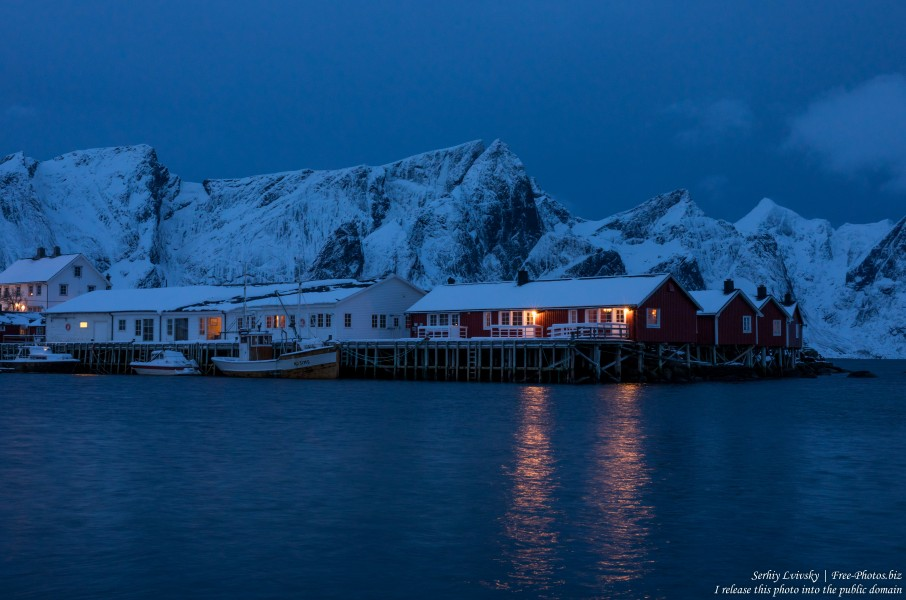 Hamnoy and surroundings, Norway, in February 2020, by Serhiy Lvivsky, picture 1