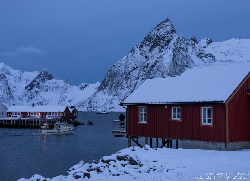 Hamnoy and surroundings, Norway, in February 2020, by Serhiy Lvivsky, picture 2
