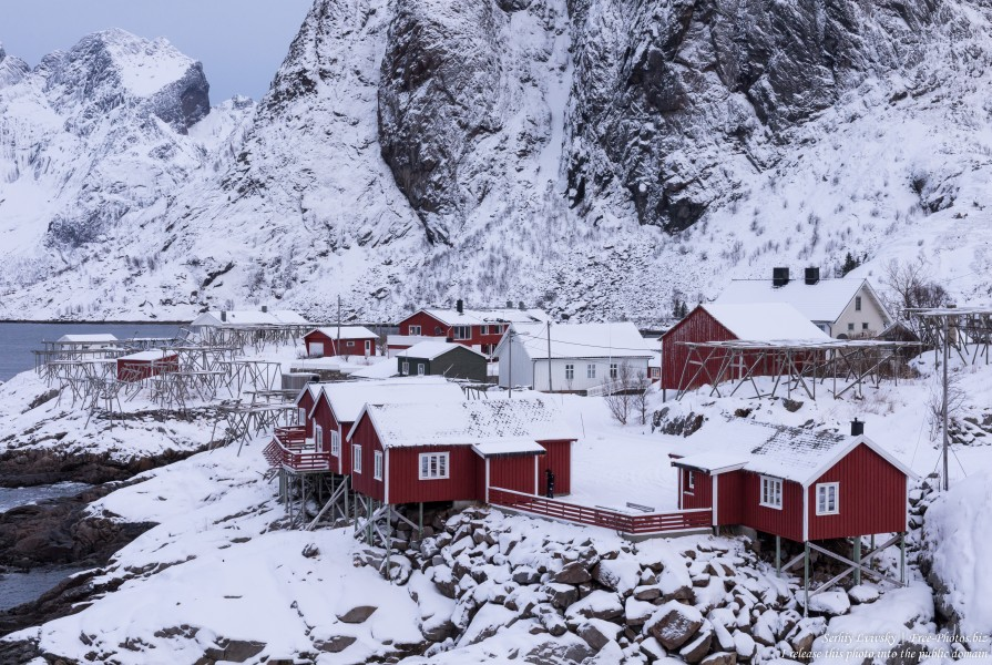 Hamnoy and surroundings, Norway, in February 2020, by Serhiy Lvivsky, picture 3