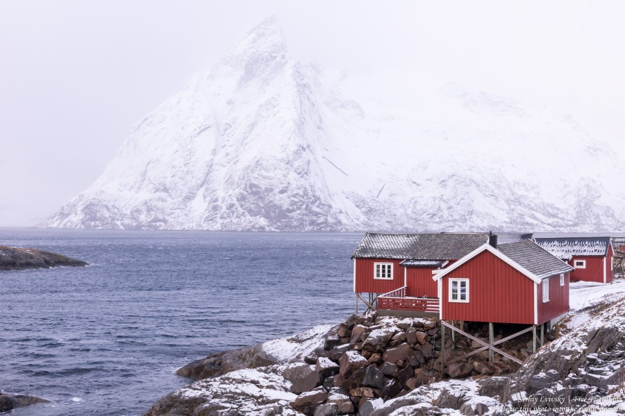 Hamnoy and surroundings, Norway, in February 2020, by Serhiy Lvivsky, picture 7
