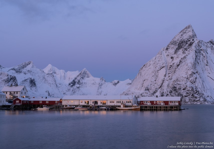 Hamnoy and surroundings, Norway, in February 2020, by Serhiy Lvivsky, picture 9