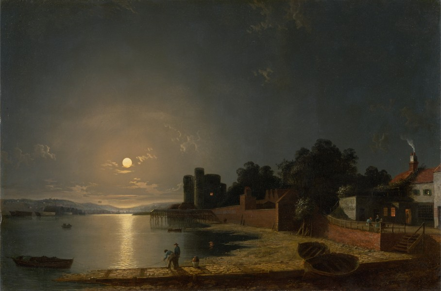 Henry Pether - Upnor Castle, Kent - Google Art Project