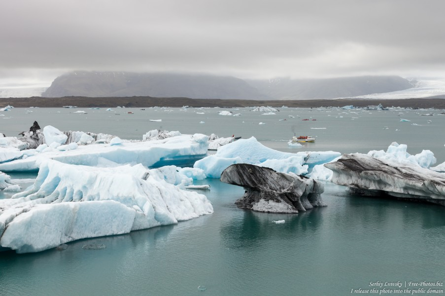 Jokulsarlon Glacier Lagoon, Iceland, photographed in May 2019 by Serhiy Lvivsky, photo 12