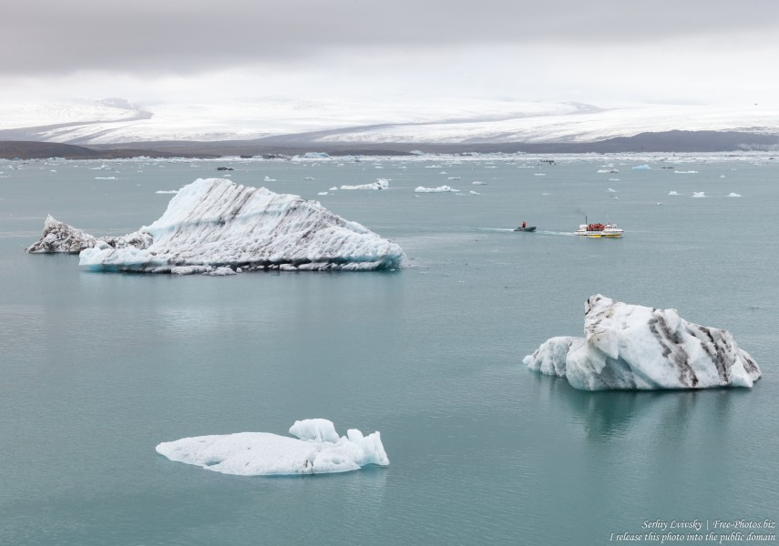 Jokulsarlon Glacier Lagoon, Iceland, photographed in May 2019 by Serhiy Lvivsky, photo 16