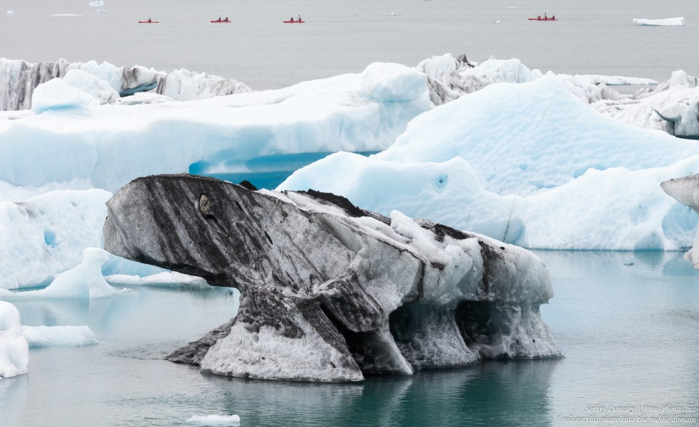 Jokulsarlon Glacier Lagoon, Iceland, photographed in May 2019 by Serhiy Lvivsky, photo 17