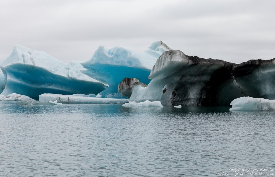 Jokulsarlon Glacier Lagoon, Iceland, photographed in May 2019 by Serhiy Lvivsky, photo 28