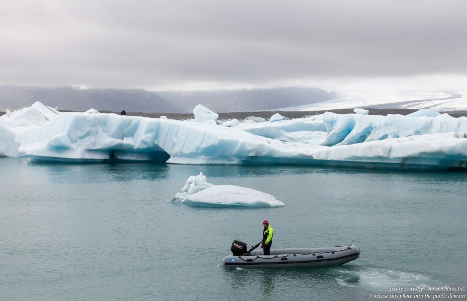 Jokulsarlon Glacier Lagoon, Iceland, photographed in May 2019 by Serhiy Lvivsky, photo 45