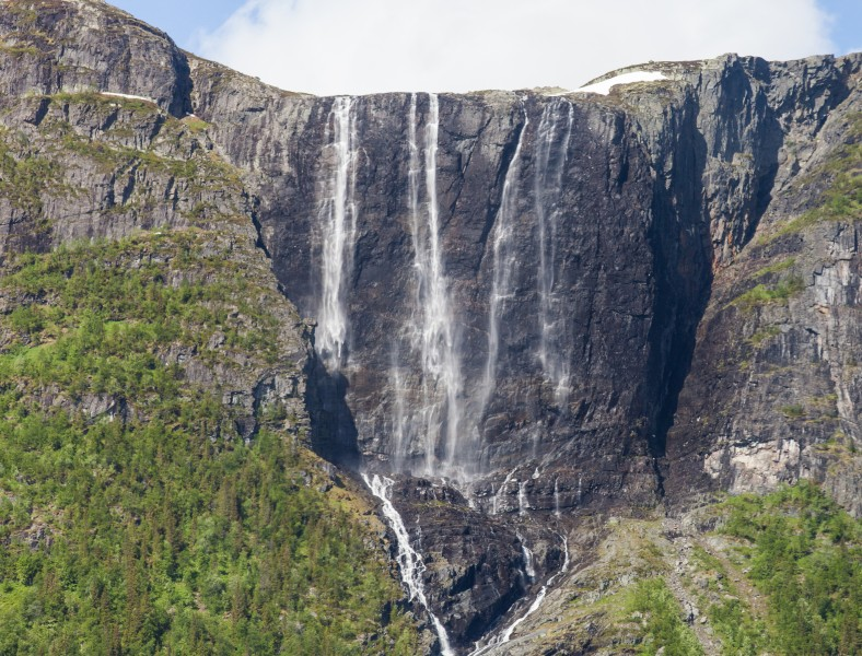 a waterfall in Norway, June 2014, picture 3
