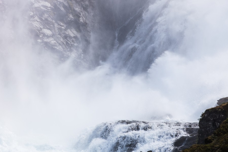 Kjosfossen waterfall, near Flåm, Norway, June 2014, picture 43