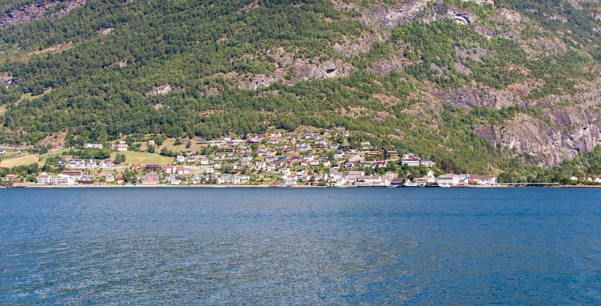 a branch of the Sognefjord, Norway, near Flåm, June 2014, picture 65