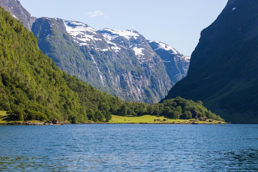 a branch of the Sognefjord, Norway, near Flåm, June 2014, picture 94