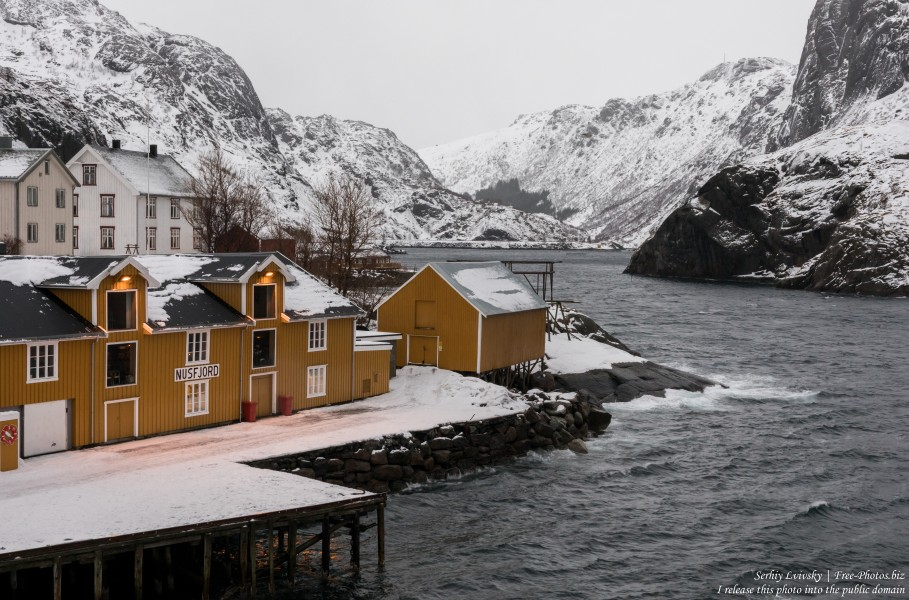 Nusfjord, Norway, in February 2020, photographed by Serhiy Lvivsky, picture 5