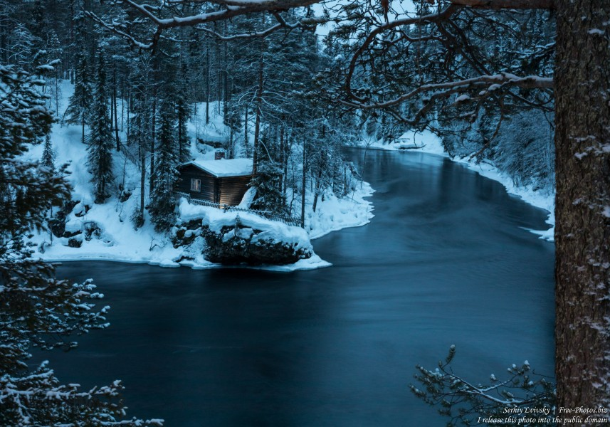 Oulanka, Finland, photographed in January 2020 by Serhiy Lvivsky, picture 5