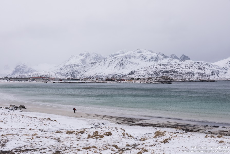 Ramberg beach, Norway, in February 2020, by Serhiy Lvivsky, picture 6