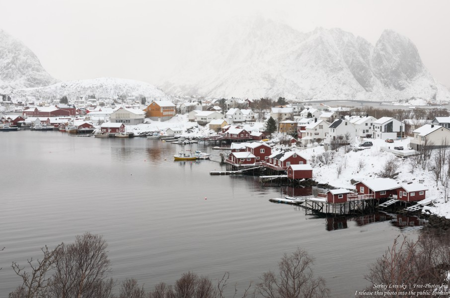 Reine and surroundings, Norway, in February 2020, by Serhiy Lvivsky, picture 1