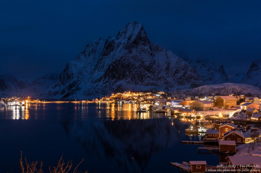 Reine and surroundings, Norway, in February 2020, by Serhiy Lvivsky, picture 16
