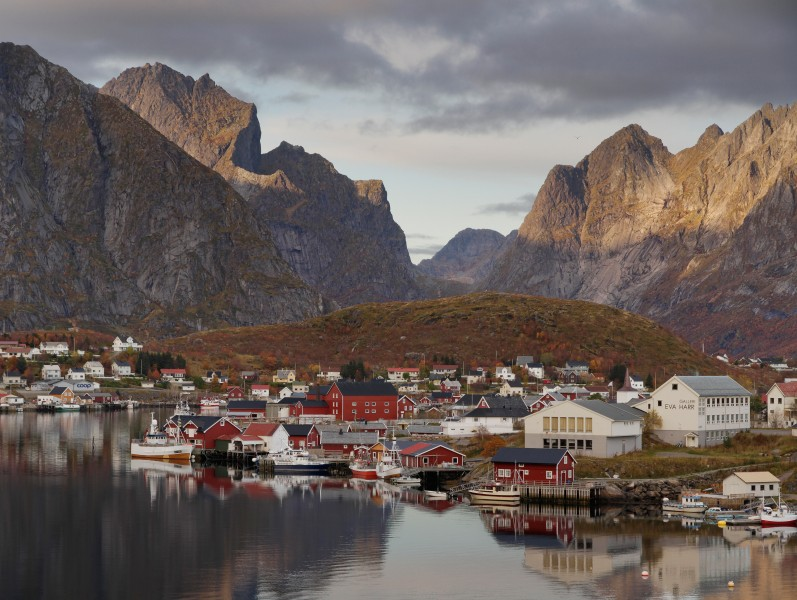 Reine in Lofoten, Norway, 2012 October