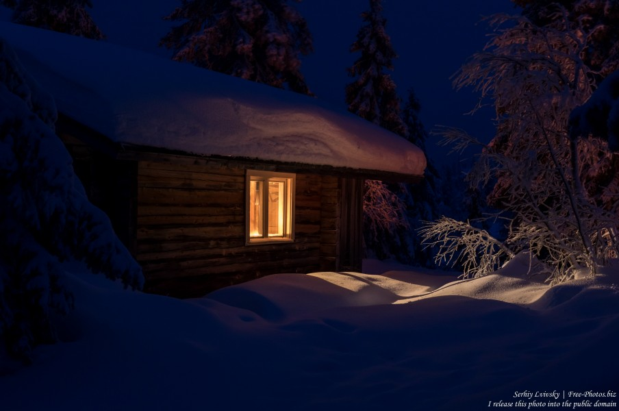 Riisitunturi, Finland, photographed in January 2020 by Serhiy Lvivsky, picture 24