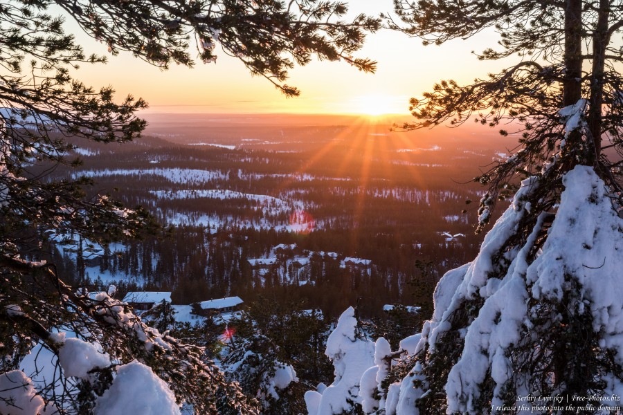 Ruka, Finland, photographed in January 2020 by Serhiy Lvivsky, picture 5