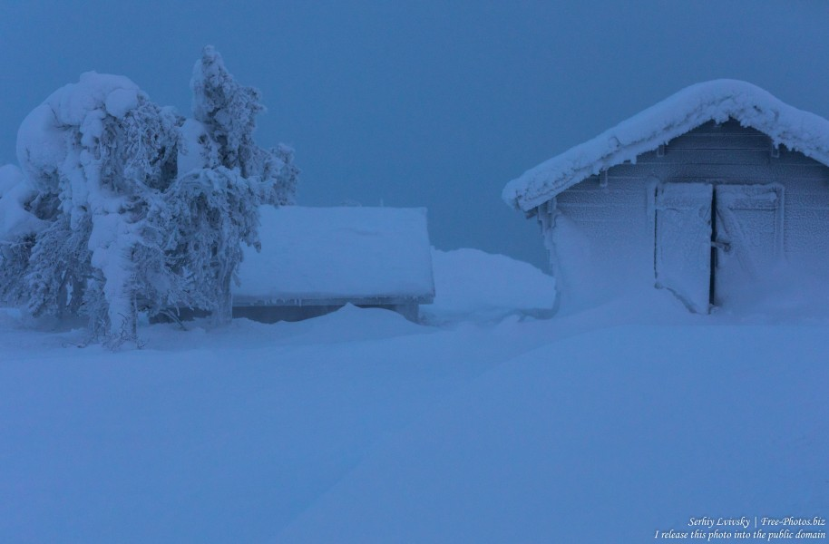Ruka, Finland, photographed in January 2020 by Serhiy Lvivsky, picture 6