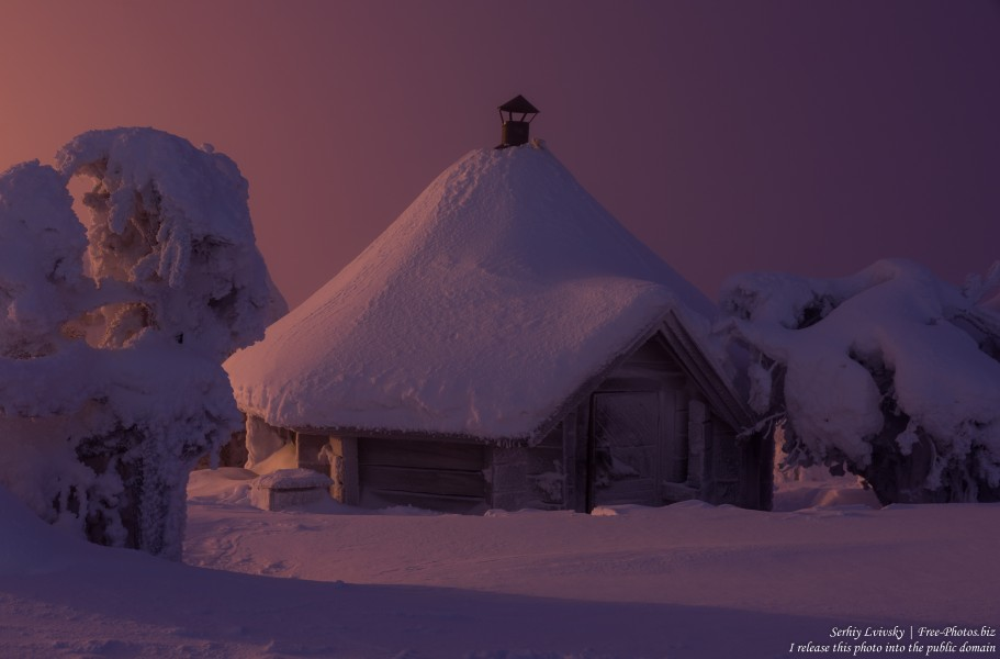Sallatunturi, Finland, photographed in January 2020 by Serhiy Lvivsky, picture 14