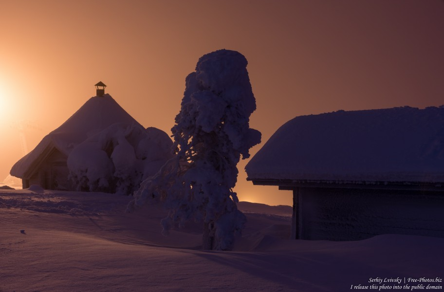 Sallatunturi, Finland, photographed in January 2020 by Serhiy Lvivsky, picture 17