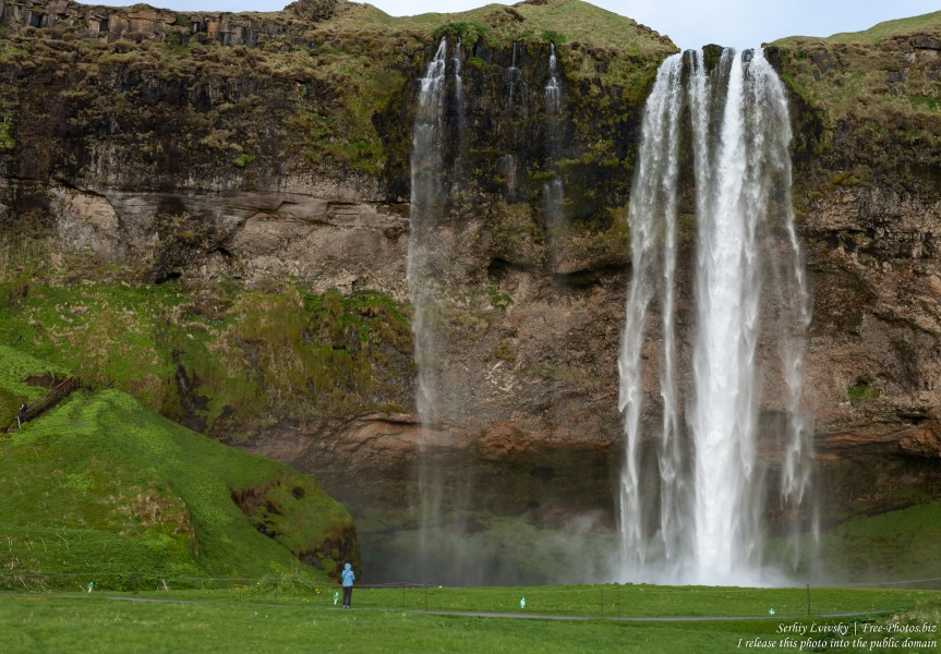 Seljalandsfoss waterfall, Iceland, in May 2019, photographed by Serhiy Lvivsky, picture 1