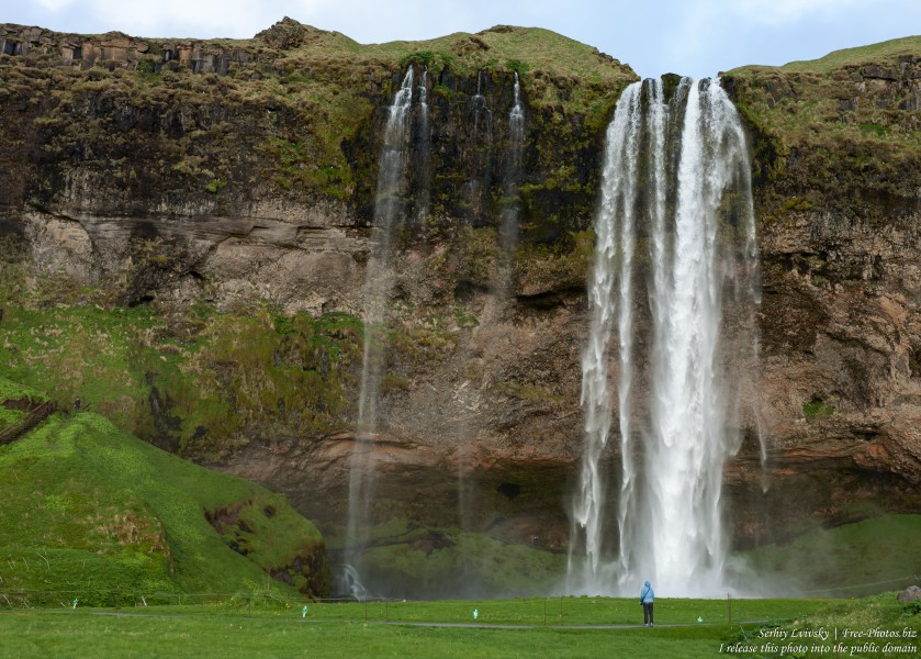 Seljalandsfoss waterfall, Iceland, in May 2019, photographed by Serhiy Lvivsky, picture 2