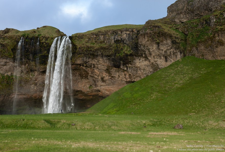 Seljalandsfoss waterfall, Iceland, in May 2019, photographed by Serhiy Lvivsky, picture 3