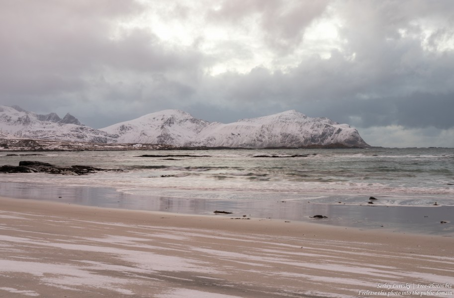 Skagsanden beach, Norway, photographed in February 2020 by Serhiy Lvivsky, picture 8