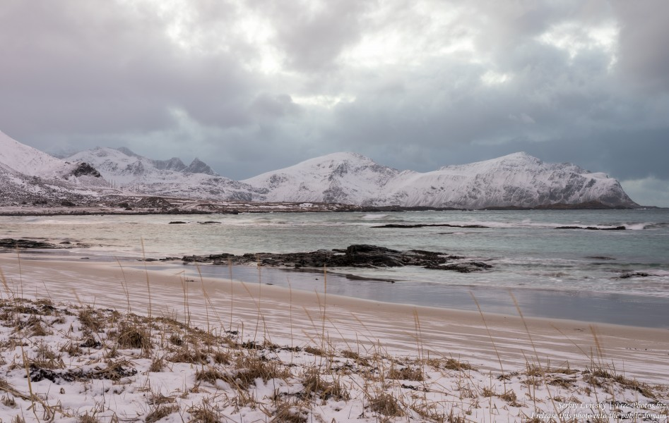 Skagsanden beach, Norway, photographed in February 2020 by Serhiy Lvivsky, picture 10