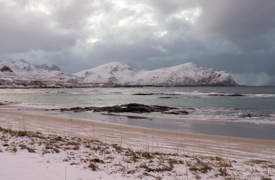 Skagsanden beach, Norway, photographed in February 2020 by Serhiy Lvivsky, picture 11