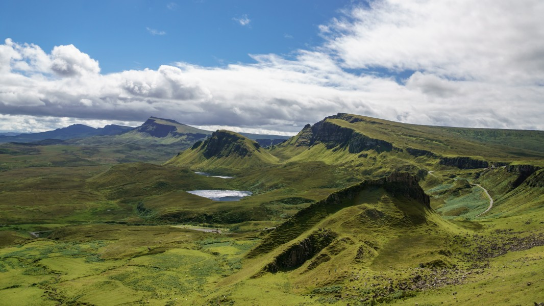 South over the Quiraing, Isle of Skye