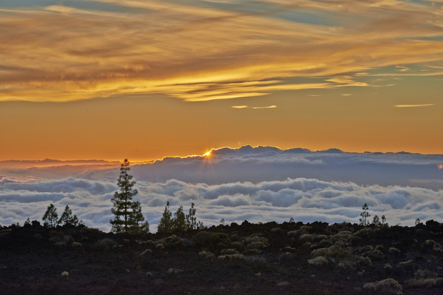 Sunset Tenerife Teide