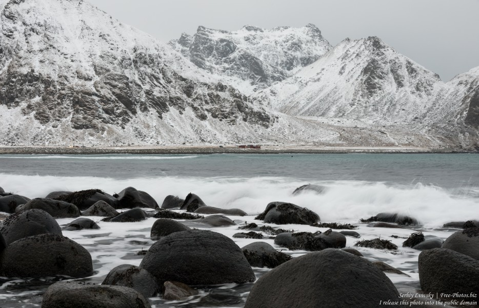 Unstad beach, Norway, in February 2020, photographed by Serhiy Lvivsky, picture 2
