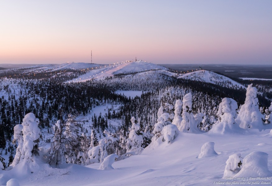 Valtavaara, Finland, photographed in January 2020 by Serhiy Lvivsky, picture 2