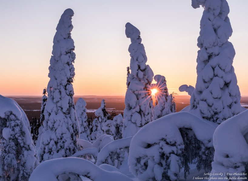 Valtavaara, Finland, photographed in January 2020 by Serhiy Lvivsky, picture 13