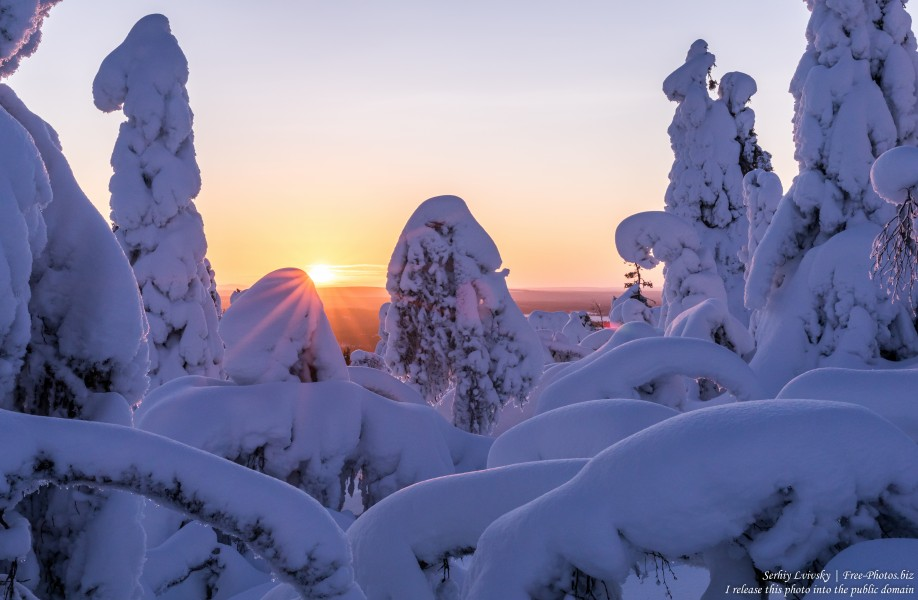 Valtavaara, Finland, photographed in January 2020 by Serhiy Lvivsky, picture 14