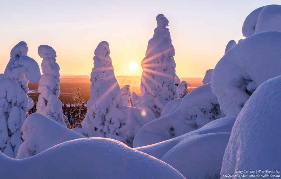 Valtavaara, Finland, photographed in January 2020 by Serhiy Lvivsky, picture 22